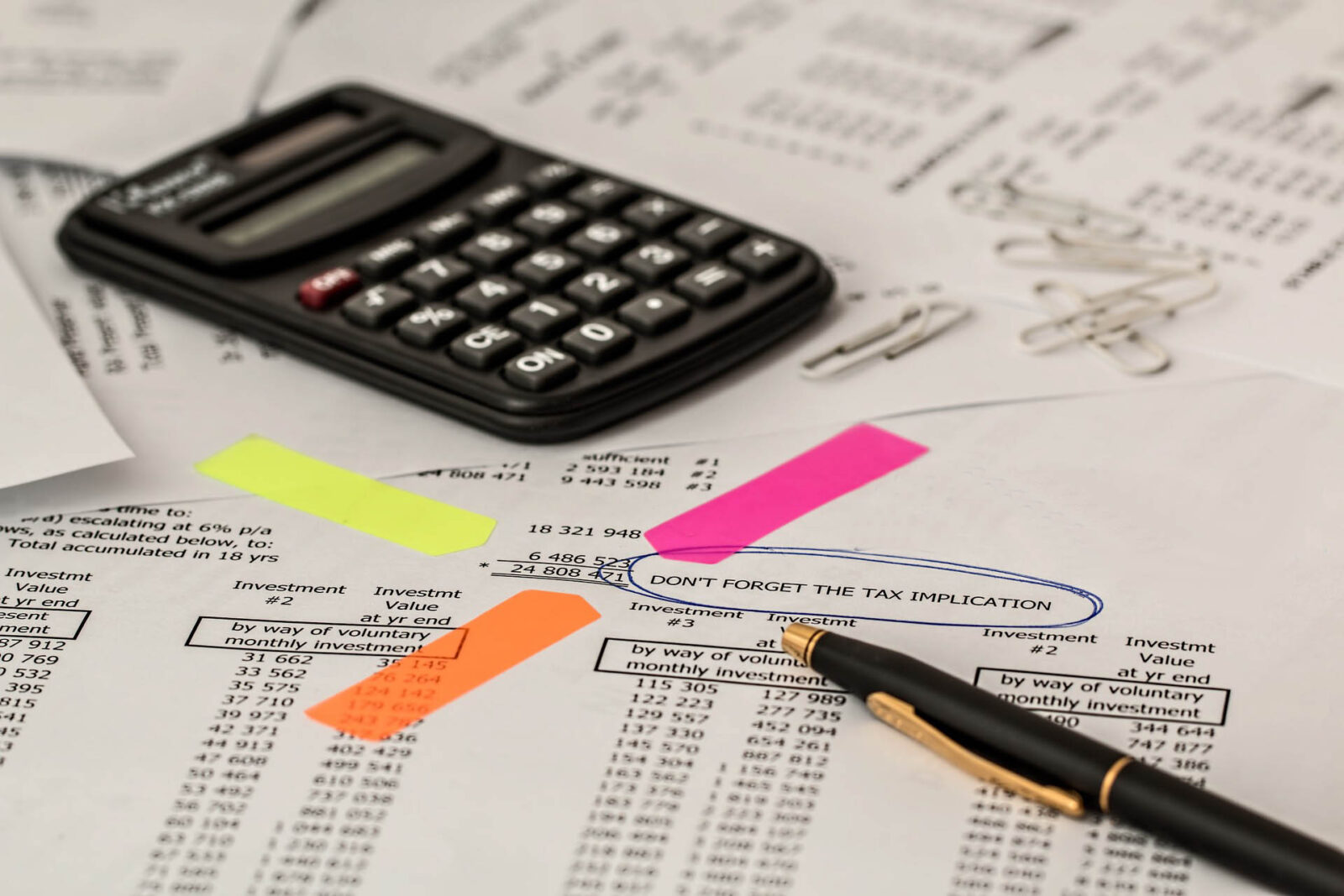 Financial Transactional Document