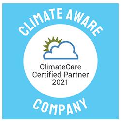ClimateCare Climate Aware Accreditation Logo 0121