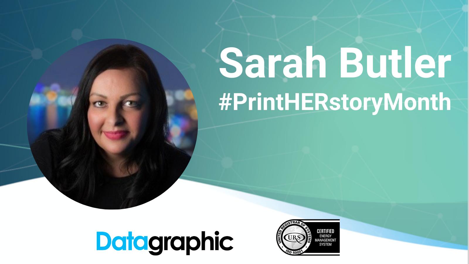 Sarah Butler General Manager PrintHERstoryMonth