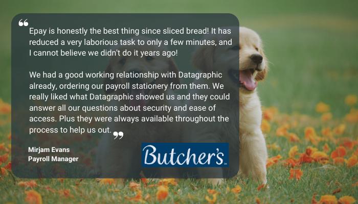 Butchers Petcare Epay Testimonial 0221