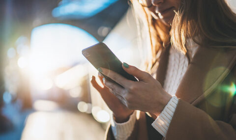 Accessing communications digitally on-the-go