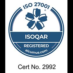 Datagraphic ISO 27001 Accreditation 0621