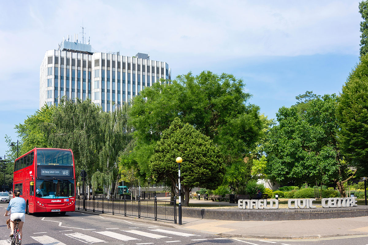 Enfield council offices